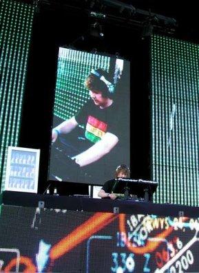 Space Ibiza 2007. Red Bull Flight Club.