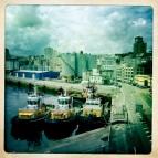 A Coruña. Puerto